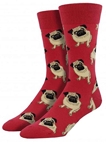 socksmith-mens-pug-novelty-sock-terracotta