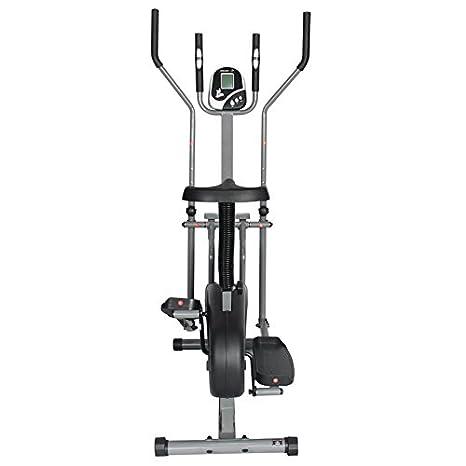 PremierFit CB360 - Bicicleta Elíptica 2 en 1 para Ejercicios, para Ejercicios de Fitness, Cardio, Pérdida de Peso, Máquina de Entrenamiento con Asiento + ...