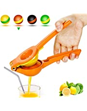 Yimobra Lemon Lime Squeezer, Heavy Duty Metal Manual Hand Juicer Press for Lemons, Limes Citrus Fruit
