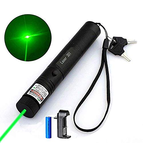 - Green Laser Pointer High Power Hunting Rifle Scope Sight Laser Pen Mini LED Tactical Flashlights Remote Pointer Projector Travel Outdoor Flashlight