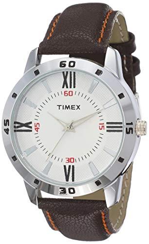 Timex Analog Off White Dial Men's Watch   TW002E113