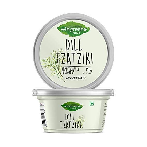 Wingreens Farms Dill Tzatziki, 150 g
