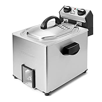 Image of Cuisinart CDF-500 Extra-Large Rotisserie Deep Fryer, Silver Home and Kitchen
