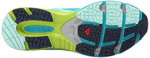 Granny Shoes Scream Women's F Blue Training Blue Running Slateblue 3D Green Salomon Teal X w74EqHY