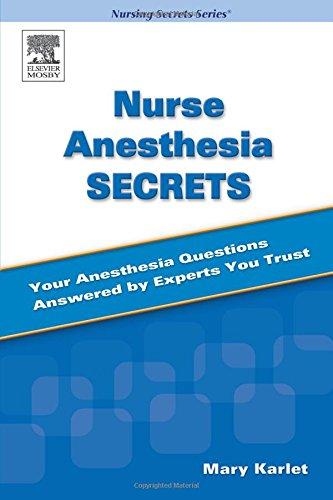 Nurse Anesthesia Secrets, 1e by Brand: Mosby