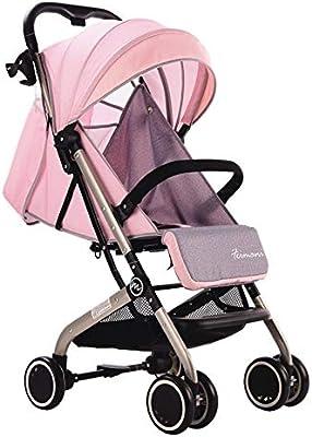 51c3dfc32 Cochecito Bebé Plegable Silla De Paseo Ligero Carrito NiñO Carricoche,Pink.  Cargando imágenes.