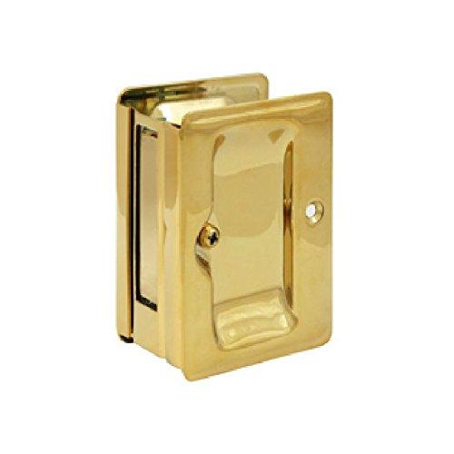 Deltana SDPA325CR003 Adjustable 3 1/4-Inch x 2 1/4-Inch Passage HD Pocket Locks