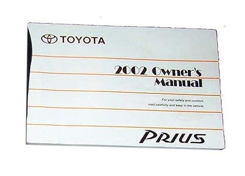 2002 toyota prius owners manual toyota amazon com books rh amazon com 2004 toyota prius owners manual pdf 2004 toyota prius owners manual pdf