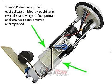 Polaris SPORTSMAN ETX EFI Fuel Pump w// Strainer /& Tank Seal 2015 2205469