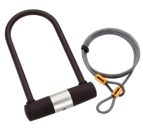 ONGUARD Bulldog DT 5012 Bicycle U-Lock and Extra Security Cable