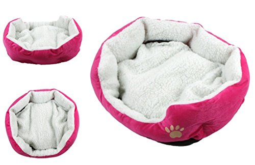 Lordly-Popular-Pet-Bed-Deep-Sleep-Puppy-House-Cozy-Pad-Color-Rose