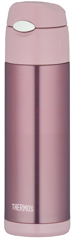 THERMOS vacuum insulation straw bottle 0.5L Pearl Pink FFI-500 PRP