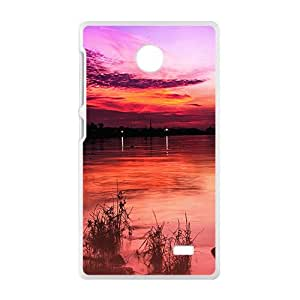 Pink Roses White Phone Case for Nokia Lumia X