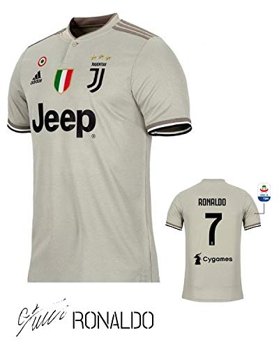 39ddbe84f SporteCO Home Fan Soccer Jerseys for Men from Soccer European Teams Such as  Juventus Ronaldo - PSG Neymar - Real Madrid Modric - Barcelona FC Messi ( Juve ...