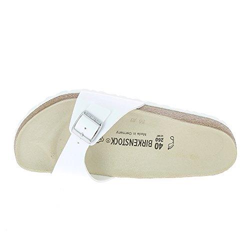 Birkenstock - Sandalias de vestir para mujer blanco