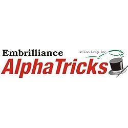 Embrilliance ALPHATRICKS Embroidery Machine Software