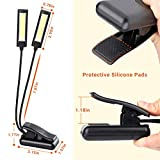 CAHAYA Music Stand Light Clip on LED Battery