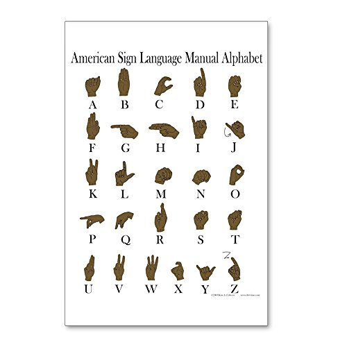 CafePress - ASL Alphabet - Postcards (Package of 8), 6