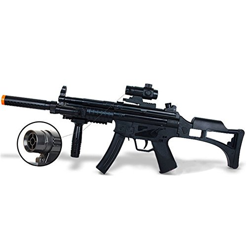 Kidslove Long Boys Simulation Toy Guns Infrared Shock Light Eight-tone Guns Children's Electric