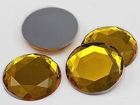 10x6mm Topaz H107 Flat Back Teardrop Acrylic Jewels Pro Grade 100 Pieces