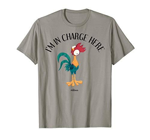 Disney Moana HeiHei I'm In Charge Here Portrait T-Shirt