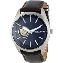 Rip Curl Men's A2659 - NAV Civilian Automatic Steel Leather Navy Analog Surf Watch