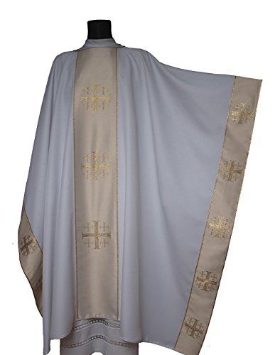 White Chasuble (White Monastic Chasuble
