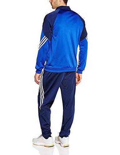 Homme Cobalt Dark Sereno Polyester Blue Haut Navy Adidas new 14 blanc; Survêtement blanc Bas YB4wnIq