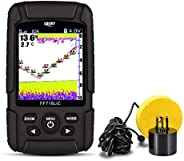LUCKYLAKER Fish Finder for Ice and Kayak Fishing with Dual Frequency
