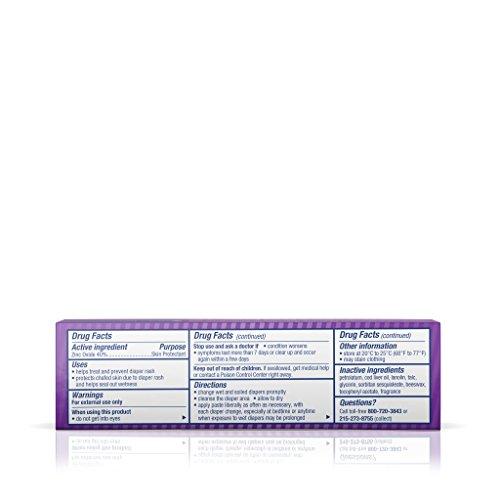 Desitin Diaper Rash Maximum Strength Original Paste, Travel Size, 1 Oz. Tube (Pack of 6) by Desitin (Image #7)