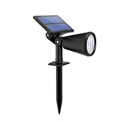 Mpow Solar Spotlight Outdoor, Solar Powered Lan...