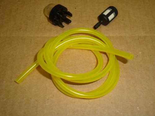 188-512-1 SET Primer Bulb with 2 feet of 6617 Tygon Fuel Lines and ZF-1 Fuel Filter