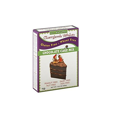 Cherrybrook Kitchen Gluten Free , Chocolate Cake Mix, 16.4-Ounce Boxes (Pack of 6) by Cherrybrook Kitchen
