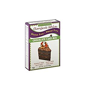 Cherrybrook Kitchen Gluten Free , Chocolate Cake Mix, 16.4-Ounce Boxes (Pack of 6)