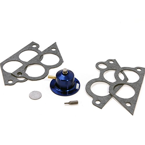 BBK 1714 Fuel Pressure Regulator Kit, CNC Machined Billet Aluminum - Fully Adjustable Pressure for Chevrolet GM TPI 305, 350 by BBK Performance