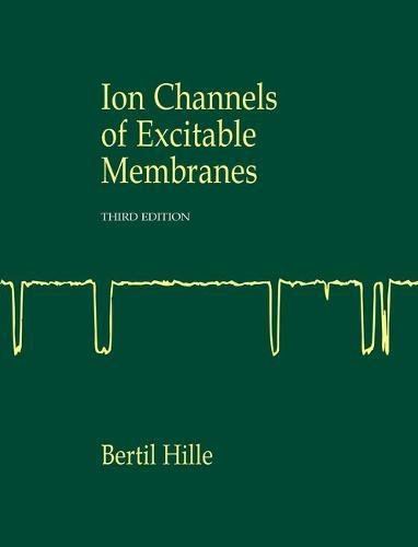 (Ion Channels of Excitable Membranes)