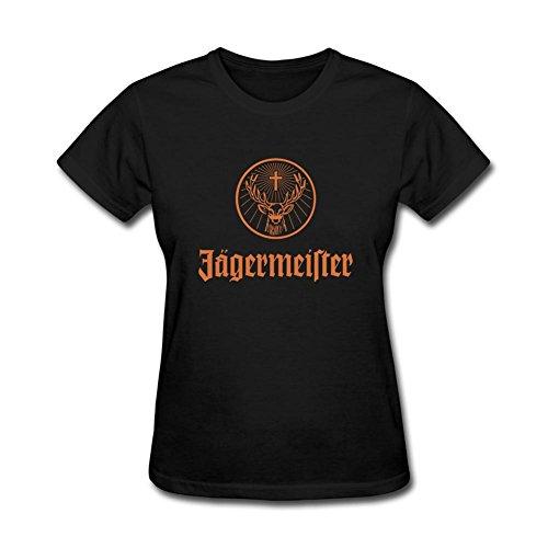 Wihuae Women's Jagermeister Design T Shirt ()