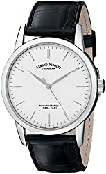 Armand Nicolet Men's 9670A-AG-P670NR1 L10 Limited Edition Stainless Steel Classic Hand Wind Watch