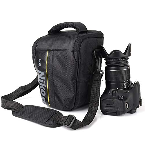 Waterproof DSLR Camera Bag Lens Pouch for Nikon D750 D80 D600 D610 P900 P520 D200 D850 D810 D40 D90 D60 D50 Nikon Bag ()