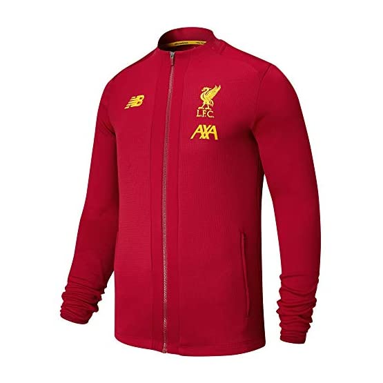 New Balance 2019-2020 Liverpool Pre-Game Jacket (Red)