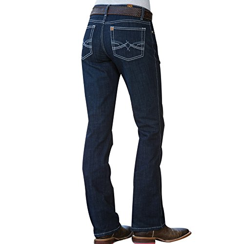 Wrangler Aura Dark Horse Jean (Jeans Wrangler Long)