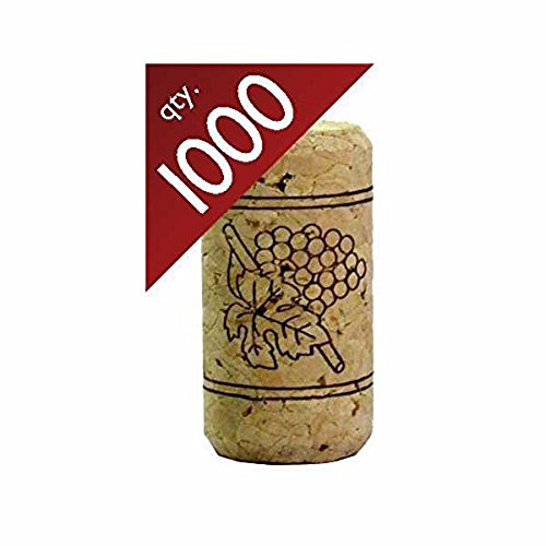 #9 Straight Corks 15/16'' x 1 3/4''.  Bag of 1000 by Midwest Homebrewing and Winemaking Supplies