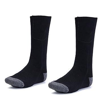 Lovinn - Calcetines calefactados con batería, pie de pie cálido, calentador eléctrico, botas de zapatos, para invierno, caza: Amazon.es: Deportes y aire ...