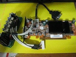 (HP 5187-8365 NEW PULL PCI-EXPRESS VIDEO CARD 128MB RADEON X300 RV370)