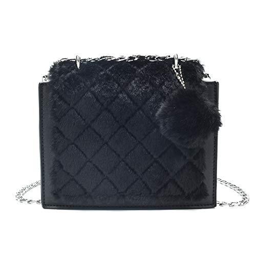 fragranza cachi Design della la Saoga spalla e dei per Piccolo catena Borsa nero con le Autunno capelli Lunar donne Inverno xUf70qw