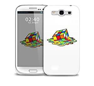 Melted Rubics Cube Samsung Galaxy S3 GS3 protective phone case