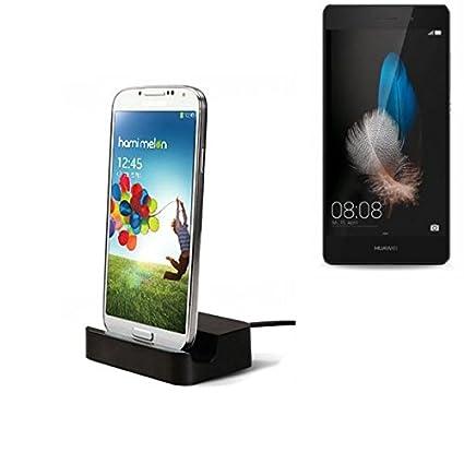 Dock USB Micro adecuado para el Huawei P8 Lite, negro ...