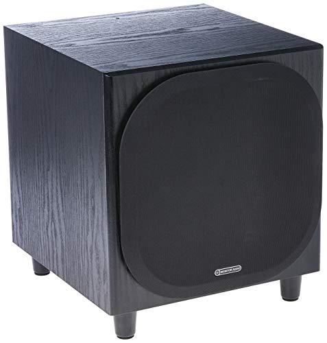 Monitor Audio - Bronze W10 Subwoofer - Black Oak Veneer ()