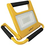 LED Light by EAGems - Rechargeable 20 Watt Work Lamp, Great for Home-Office-Car-Inside/Out, Use in Emergency, As Spotlight, Carry Like a Flashlight - Portable, Adjustable 360 Degrees
