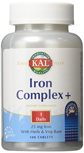 Iron Complex + Timed Release Kal 100 Sustained Release Table